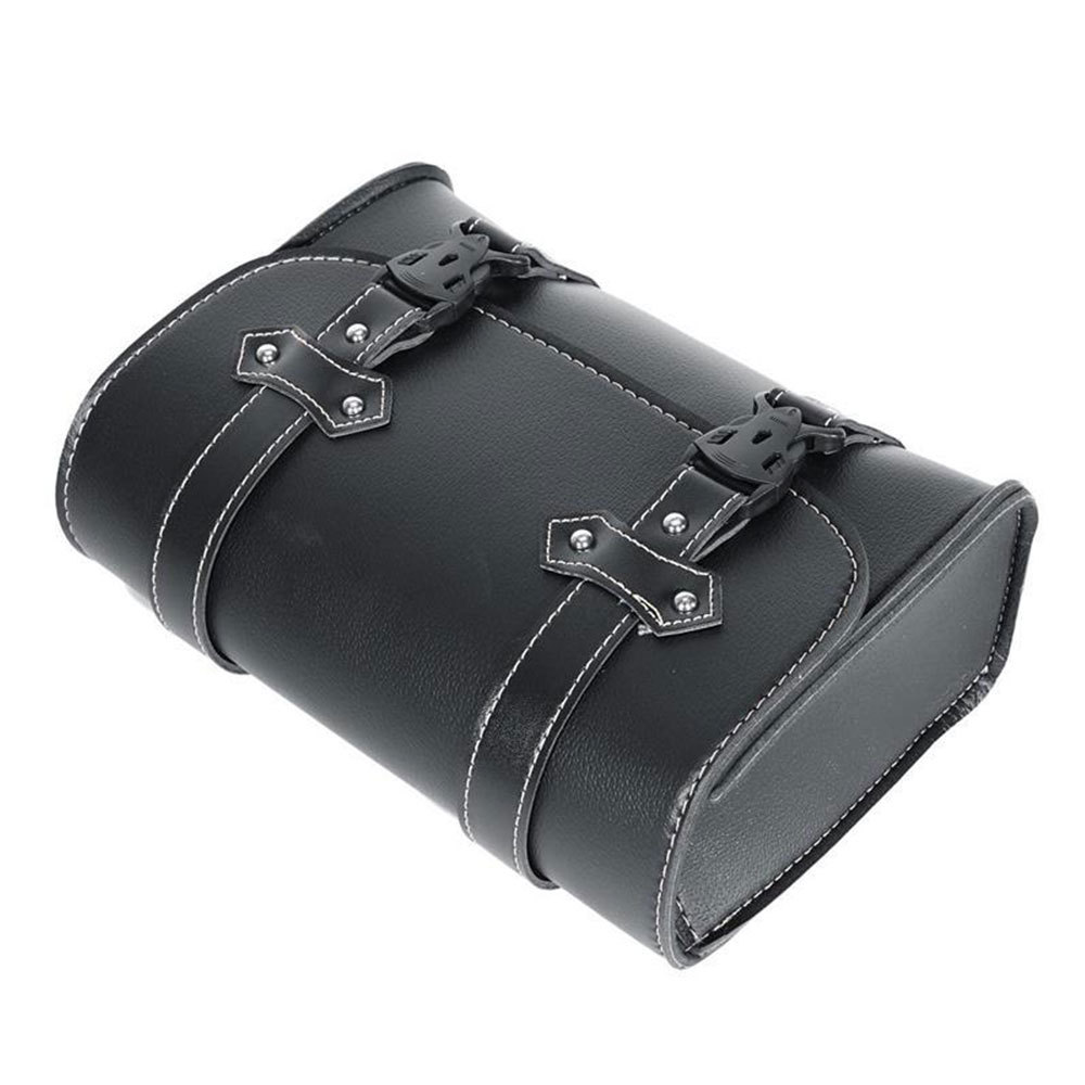 Motorcycle Side Saddle Bags Leather Storage Tool Tail For Honda Hot Sale Parts