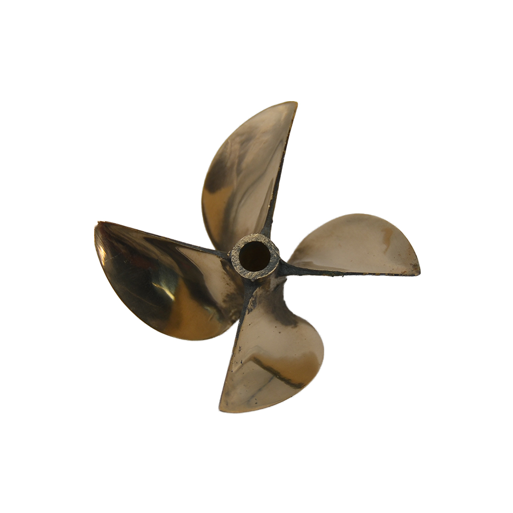 Replacement For 26CC-30CC RC Boat Screw Prop 6717 67mm 4 Propeller RC Gasoline Boat Accessories