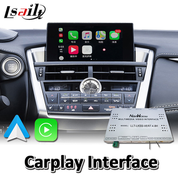 Lsailt Wireless Carplay Interface for Lexus NX NX200t NX300 NX300h 2012-2018 Year , Android Auto Youtube image