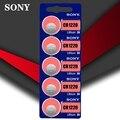5 шт./лот Sony 100% оригинальный CR1220 кнопочный Аккумулятор для часов автомобильный пульт дистанционного управления cr 1220 ECR1220 GPCR1220 3v литиевая бат...