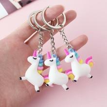 Valentines Day Gift for Girlfriend Boyfriend Cute Unicorn Keychain Wedding Gifts