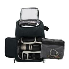 Многофункциональный водонепроницаемый рюкзак для камеры, рюкзак большой емкости, портативный дорожный рюкзак для камеры для внешней фотографии