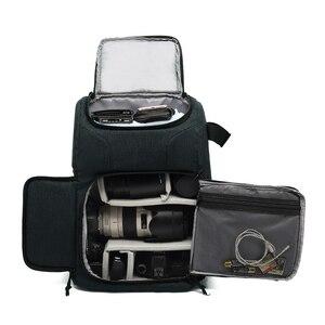 Image 1 - Mochila multifuncional impermeable para cámara, mochila de gran capacidad, mochila portátil para cámara de viaje para fotografía exterior