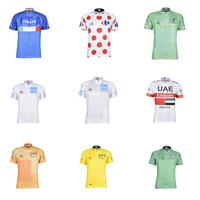 2019 new Mens short sleeve cycling jerseys Wave point Bike Clothing shirts MTB Quick dry Bicycle Wear Ropa Ciclismo