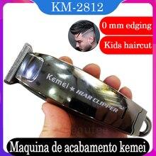 שיער קליפר 0mm שולי גוזם מספרה מקצועי תספורת Kamei Trimer שליש לאדם זקן חיתוך Kemei גמר מכונה