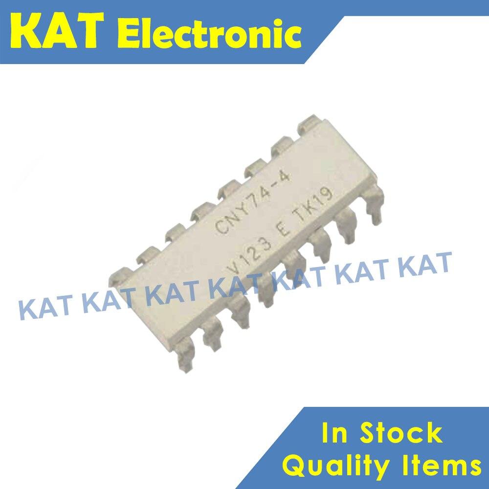5PCS/Lot CNY74-4 CNY74-4H DIP-16 Multichannel Optocoupler With Phototransistor Output