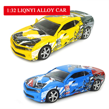 1:32 Cartoon Sport Car Alloy Diecast Model Car Toy acousto-optic 6 Color Pull Back Flashing For Kids Birthday Christma Gifts Toy цена и фото