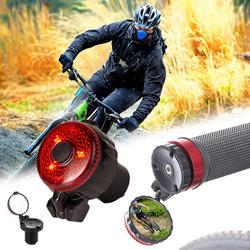Велосипедный светильник, зеркало заднего вида для велосипеда, дорожный MTB велосипедный регулируемый велосипедный заглушка для руля, задний...