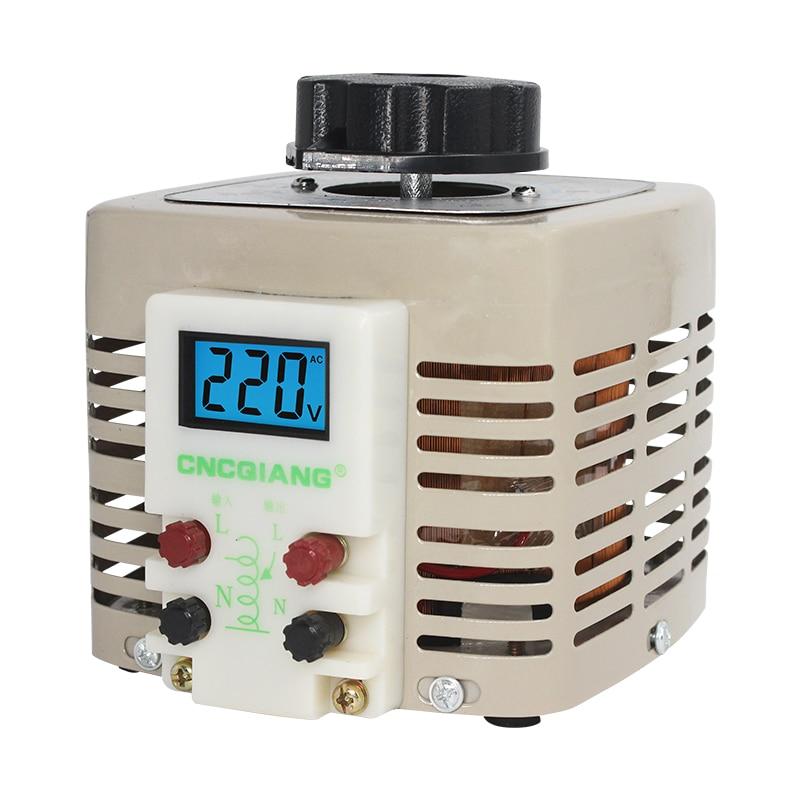 TDGC2-3KVA tdgc2 3kva regulador de tensão, monofásico conversor de energia ajustável entrada transformador 220v 3000w outp