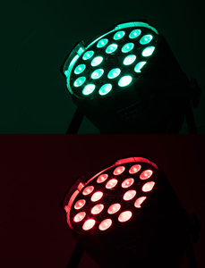 Image 5 - 4 قطعة/الوحدة 18*12 واط RGBW التكبير LED الاسمية ضوء في الهواء الطلق 18x18 واط 6in1 Led الاسمية التكبير RDM ل ديسكو DJ العارض آلة الطرف الديكور