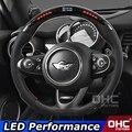 Светодиодный руль  совместимый с Mini Cooper  из углеродного волокна  для рулевого колеса F54 F55 F56 F57 F60  светодиодный  производительность