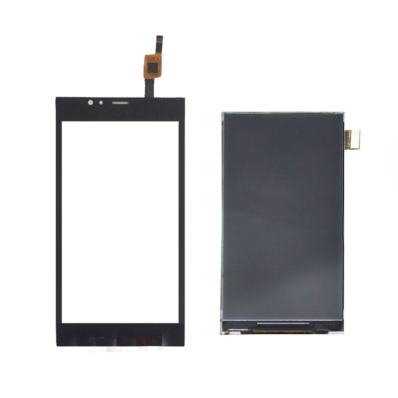 For Highscreen Pure Power LCD Display Touch Screen Digitizer Lcd Sensor Replacement Complete Assembly Frame