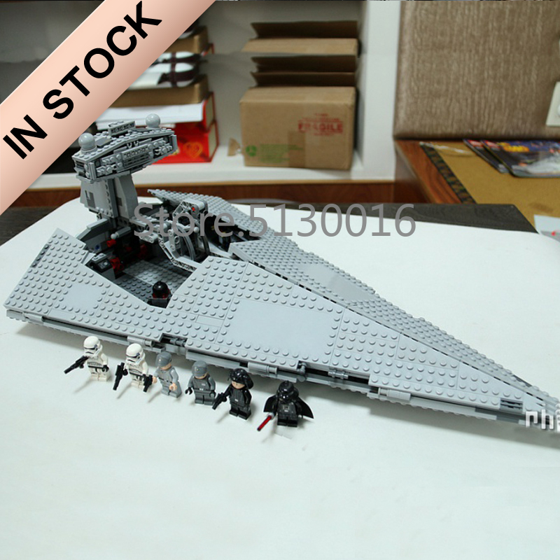 In Stock 05062 The Imperial Super Star Destroyer 1487pcs Star Movie Wars Model Building Blocks Compatible with 75055 Toys-in Blocks from Toys & Hobbies