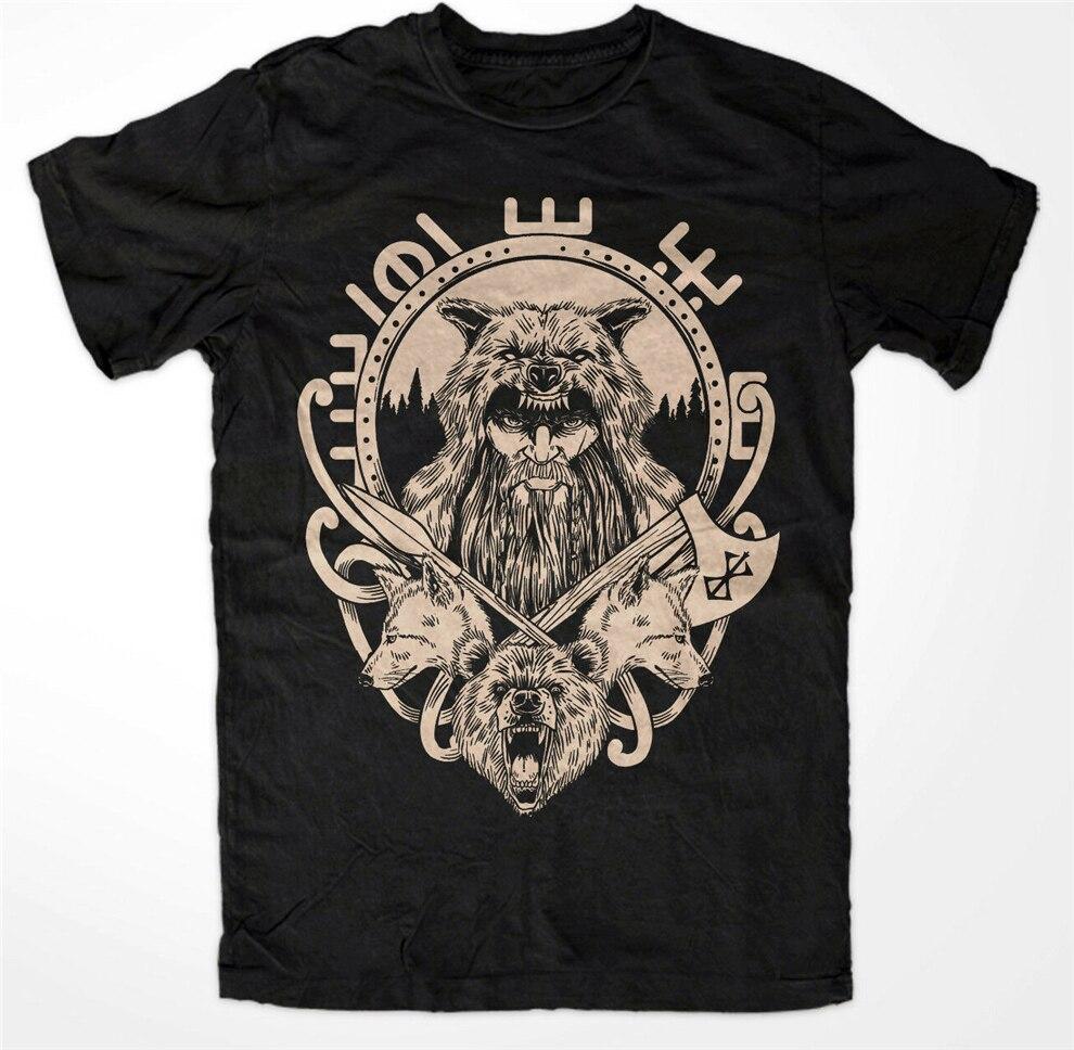 Odinson M2 premium T-Shirt Royal Hugin Munin,Odin,Germanen,Thor Mjölnir,Wikinger