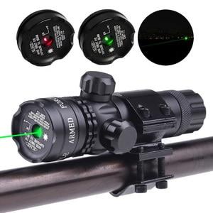 Зеленый красный точечный лазерный прицел с креплением колпачок переключатель давления