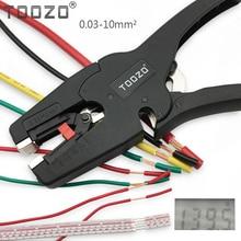 Высококачественные плоскогубцы для зачистки проводов, автоматическая регулировка, диапазон зачистки проводов 0,03 10 мм2, ручной инструмент, alicates