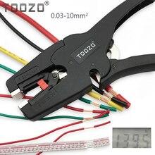Alta qualidade de ajuste automático fio stripper cabo cortador alicate faixa de descascamento de fio 0.03 10mm2 ferramenta de mão alicates