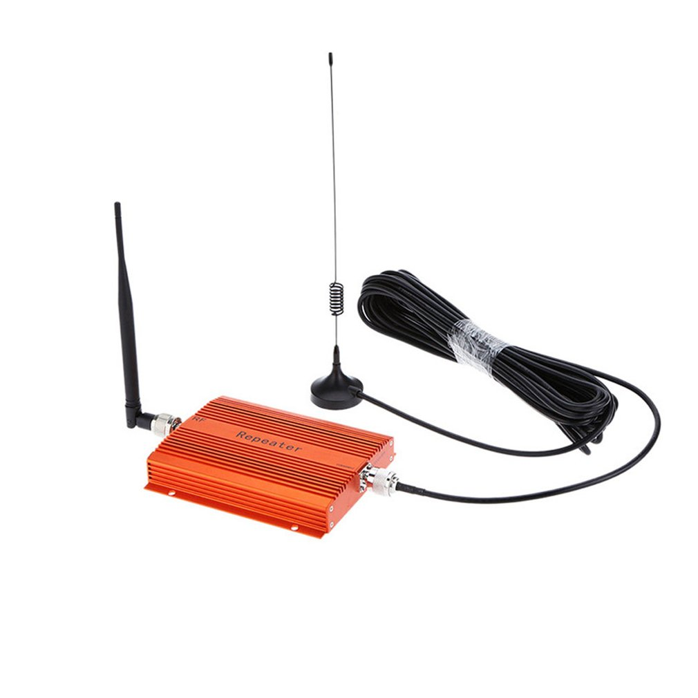 <font><b>Repeater</b></font> 850 MHz <font><b>GSM</b></font> CDMA <font><b>850MHz</b></font> Mobile Phone <font><b>Repeater</b></font> Cell Phone Signal Amplifier Extender Kit CDMA850Mhz Booster With Antenna image