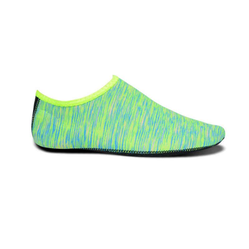 Pływanie wody buty do wody mężczyźni kobiety buty plażowe buty Unisex Aqua płaskie miękkie kochanka do chodzenia buty do jogi antypoślizgowe trampki