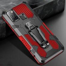 Luxus Stoßfest Fall Für Samsung Galaxy A21S A20 A30 A10 A40 A50 A70 A20S A30S A70S A21 A1 Rüstung Stehen halter Gürtel Clip Abdeckungen