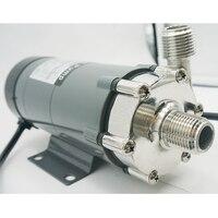 Homebrew-bomba de accionamiento magnético para elaboración de cerveza, cabezal de acero inoxidable 15RM 304 con enchufe