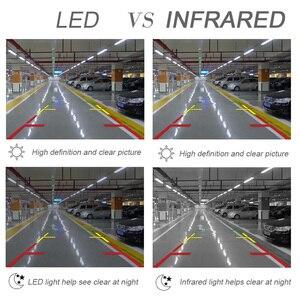 Image 5 - GSPSCN Monitor de espejo HD para coche, 4,3 pulgadas, CCD, vídeo de asistencia de estacionamiento para coche, visión infrarroja LED, cámara de visión trasera de marcha atrás