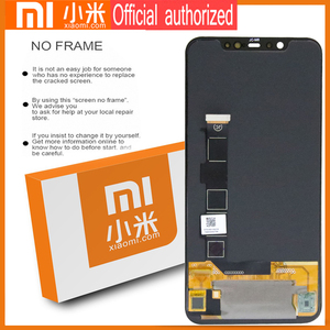 Image 3 - Original 6.21 Amoled Display with frame for Xiaomi MI8 Mi 8 Global LCD Touch Screen Digitizer Assembly Replacement Parts