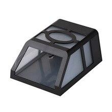 1Waterproof Solar Wall Lamps ABS Path LED Solar Light Outdoor Garden Wall Lighti