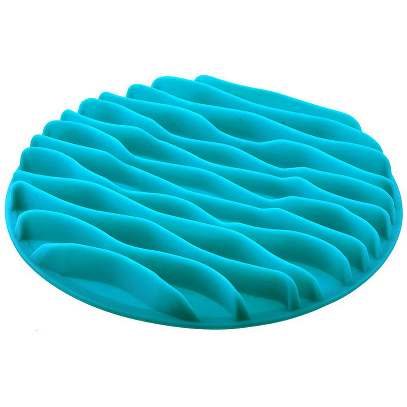 Feed Dish Puppy Silicone Bowl For Food Pet Feeder Dish Dogs Cats Anti Choke Pets Silicone Slow Eating Feeding Bowls