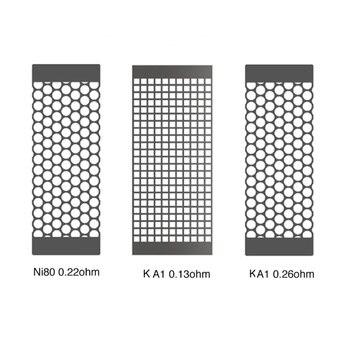 Original 10pcs MECHLYFE SLATRA Mesh Coil with Ni80 0.22ohm & KA1 0.26ohm & A1 0.13ohm Coil Head for MECHLYFE SLATRA RDA