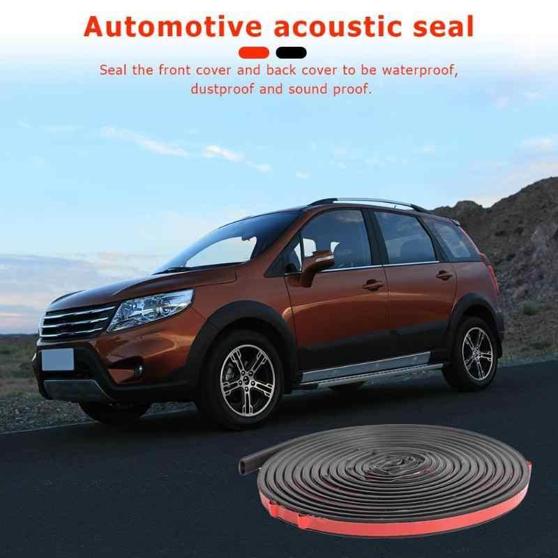 5m 16ft samochodu uszczelka do drzwi B kształt uszczelka izolacja akustyczna gumowa uszczelka zmniejszyć chodniku i szum wiatru, wygodne