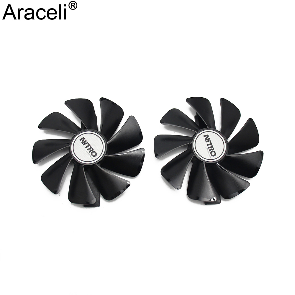 CF1015H12D Cooler Fan For Sapphire Radeon RX 470 480 580 570 NITRO Mining Edition RX580 RX480 Gaming Video Card Cooling Fan