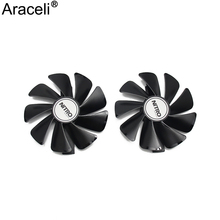 CF1015H12D Cooler Fan For Sapphire Radeon RX 470 480 580 570 NITRO Mining Edition RX580 RX480 Gaming Video Card Cooling Fan original sapphire nitro rx 570 video card radeon rx570 4g ddr5 graphics card directx12 2048sp 1325 7000mhz 3 years warranty