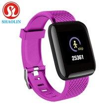Orologio digitale Smart Android Wristband Sport Fitness pressione sanguigna frequenza cardiaca chiamata messaggio promemoria pedometro Smart Watch