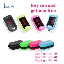 Loodom monitor de freqüência cardíaca, oxímetro monitor de oxigênio LED, para pulso ponta do dedo com monitor de frequência cardíaca