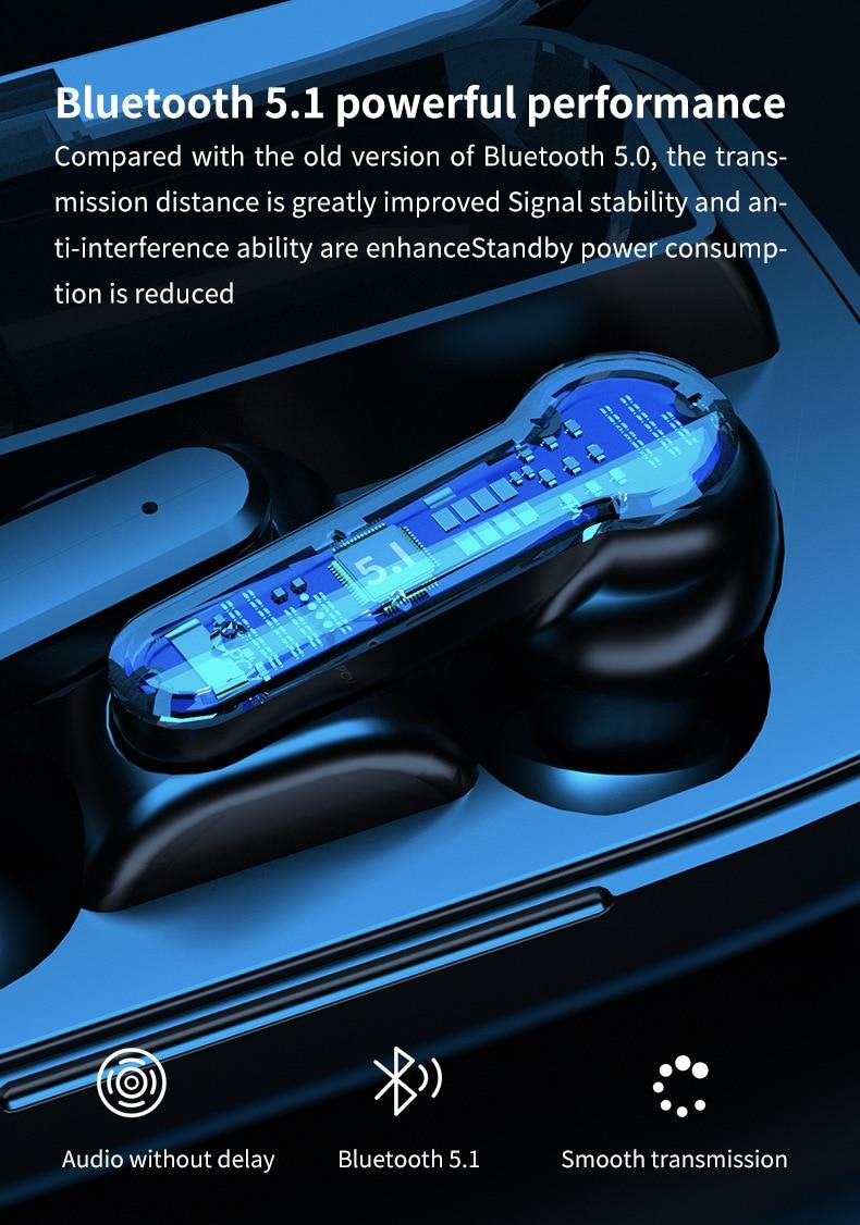 M19 TWS Bluetooth Earbuds 11
