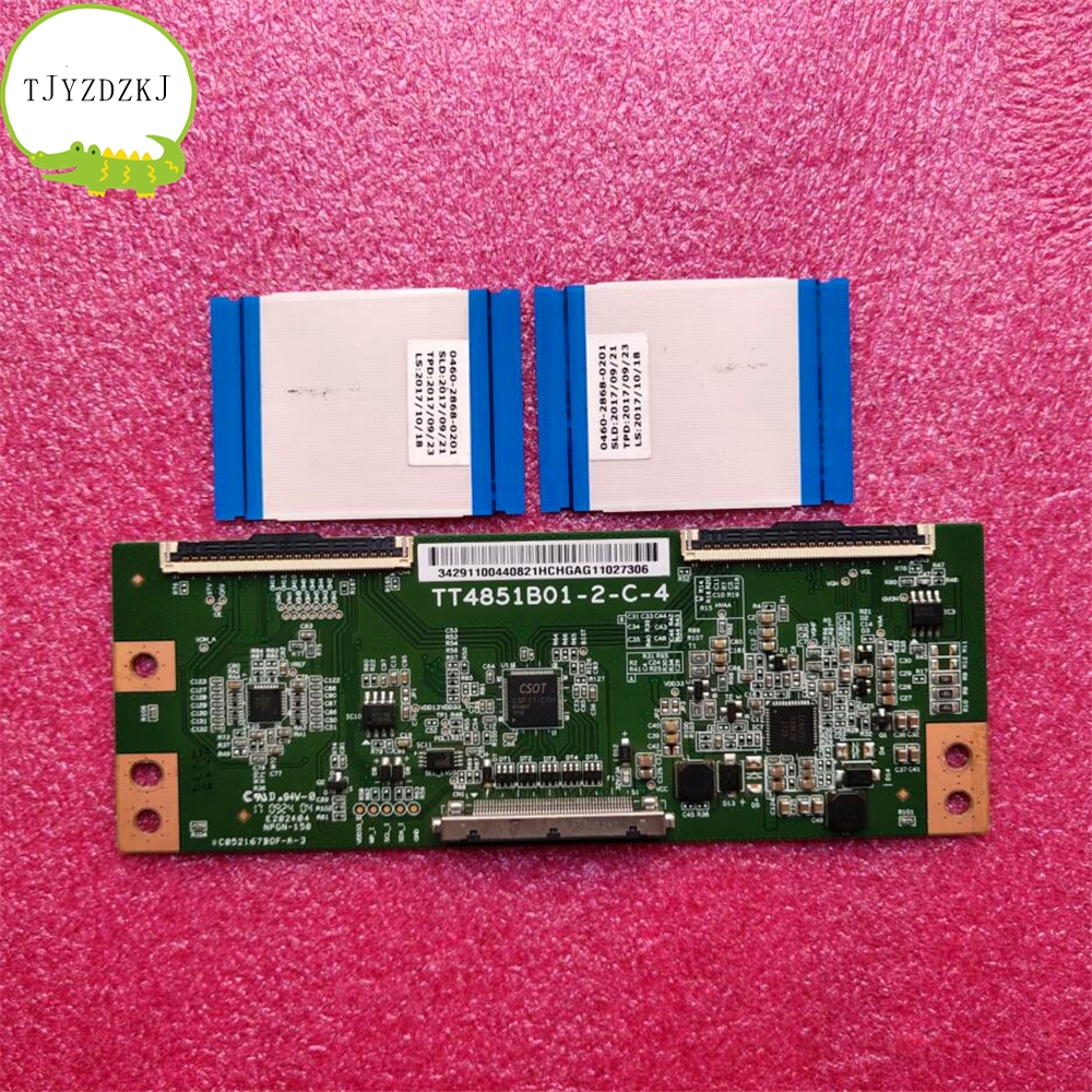 Good Test Working Original For 49 Inch TV T-CON Board TT4851B01-2-C-4 TT4851B01-2-C-3 Logic Board MI49TV (M49) L49M5-AZ