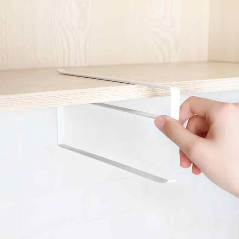 Kuchnia pudełko na chusteczki Drzwi do szafki stojak na papier toaletowy łazienkowy wieszak na ręczniki wieszak na ręczniki kuchenne z gospodarstw domowych Drzwi do szafki hak półka organizator