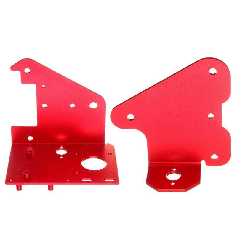 2 pièces pour Cr-10S Pro imprimante 3D partie: 1 pièces 3D z-axis 2.5Mm bloc passif plaque d'aluminium & 1 pièces X panneau arrière du moteur 2.5Mm alun