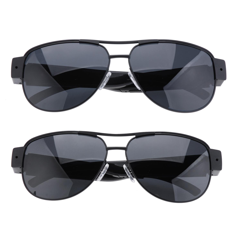 Chat espionné HD 1080P polarisé DVR Mini caméra lunettes de soleil numérique enregistreur vidéo lunettes Sport caméscope secret cctv noir cam