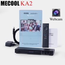 5pcs Mecool KA2 NOW Android TV Box con fotocamera Amlogic S905X4 Android 10 DDR4 HD 2.1 4K 2.4G e 5G dispositivo per altoparlanti per videochiamate