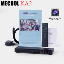Mecool KA2 NOW Android TV Box con fotocamera Amlogic S905X4 Android 10 DDR4 HD 2.1 4K @ 60fps 2.4G e 5G dispositivo per altoparlanti per videochiamate