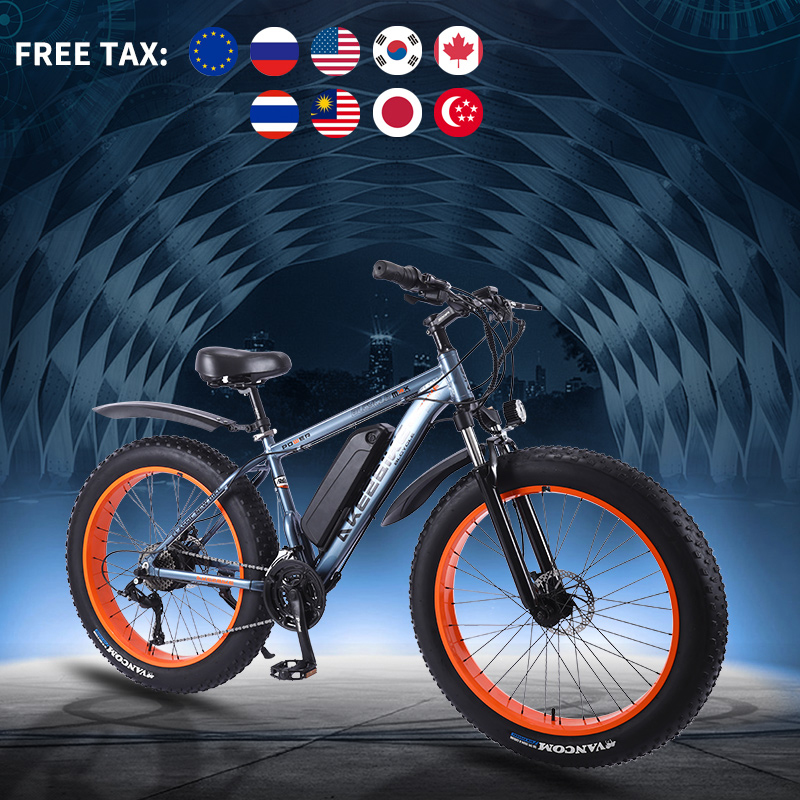Electric bike ebike 36V350W electric Snow bike 26 inch 4.0 fat tire Electric Bicycle beach E-bike electric
