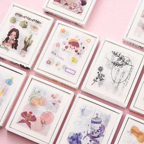 10 conjunto 1 lote kawaii papelaria adesivos diario verde decorativo movel adesivos scrapbooking diy artesanato