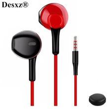 D3 אוזניות Wired אוזניות עם רעש ביטול מיקרופון נוח סטריאו לxiaomi iPhone sony