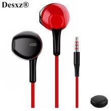 D3 écouteur casque filaire avec suppression de bruit et microphone stéréo confortable pour xiaomi iPhone sony