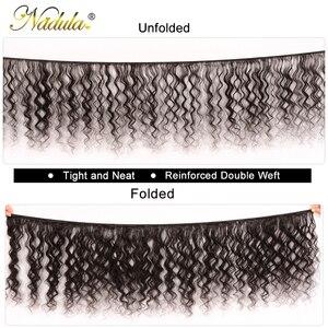 Image 2 - Nadula Hair Loose Deep Wave Bundles 12 26inch Brazilian Hair Weave Bundles 100% Human Hair 1/3/4 Bundles Remy Hair Natural Color