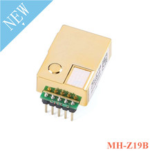 MH Z19 MH Z19B อินฟราเรด CO2 โมดูลเซ็นเซอร์คาร์บอนไดออกไซด์ Sensor สำหรับ CO2 Monitor 0 5000ppm MH Z19B NDIR Pin