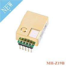 MH Z19 MH Z19B infrarrojos CO2 Módulo de Sensor de Gas de dióxido de carbono Sensor para CO2 Monitor 0 5000ppm MH Z19B NDIR con Pin