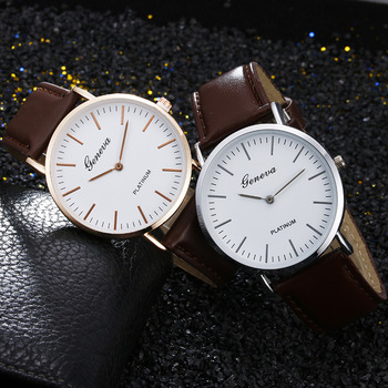 Geneva Fashion Casual Luxury Business Sport Unisex Women Watches Ladies Watch Leather Analog Quartz Wrist Watch relogio feminino santa maria novella magnolia